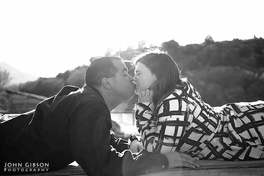 Rocky Mountain engagement portraits