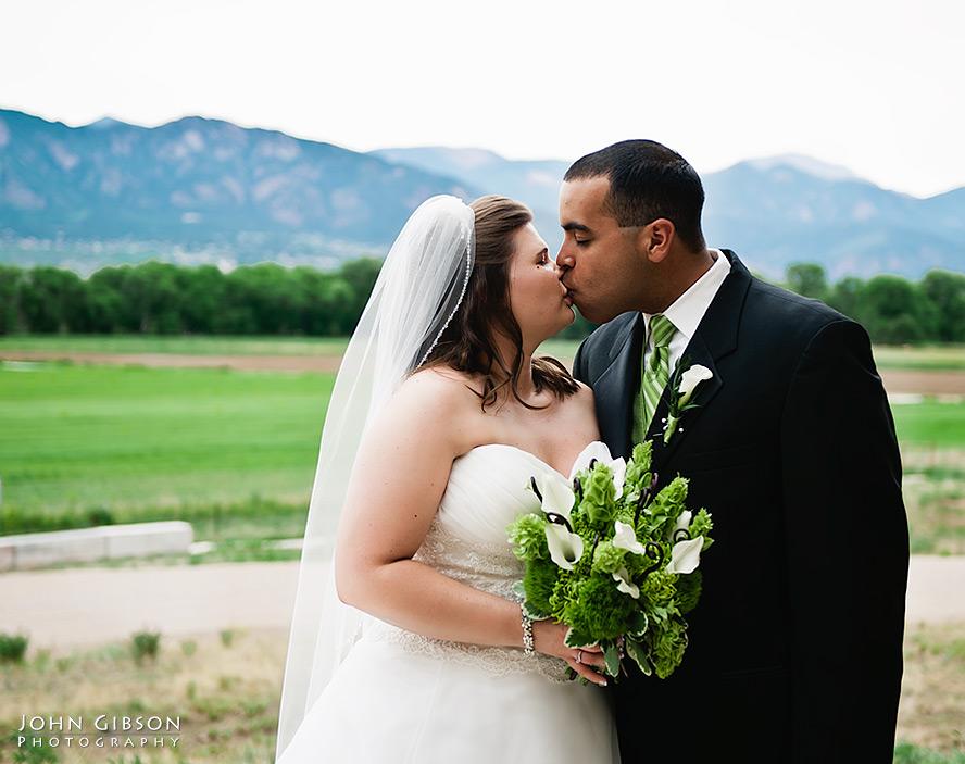 A Colorado Springs wedding