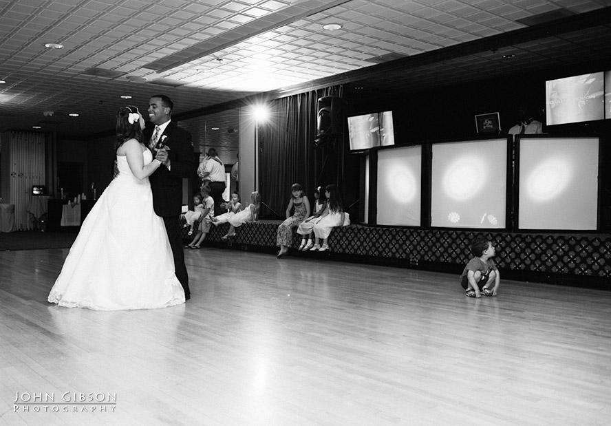 Jessica + Juan share their first dance as newlyweds