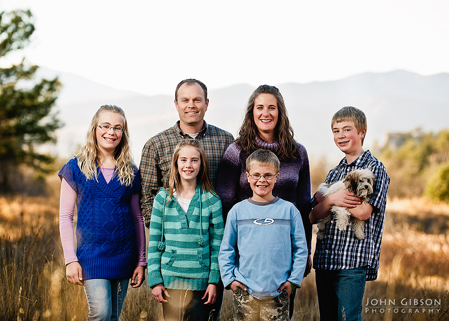 Fall portraits for Laura, Rob & Family