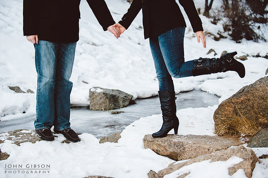 Engagement Session in North Cheyenne Cañon Park