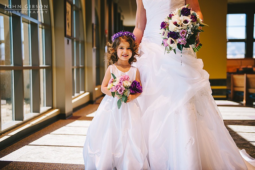 Gorgeous little flower girl