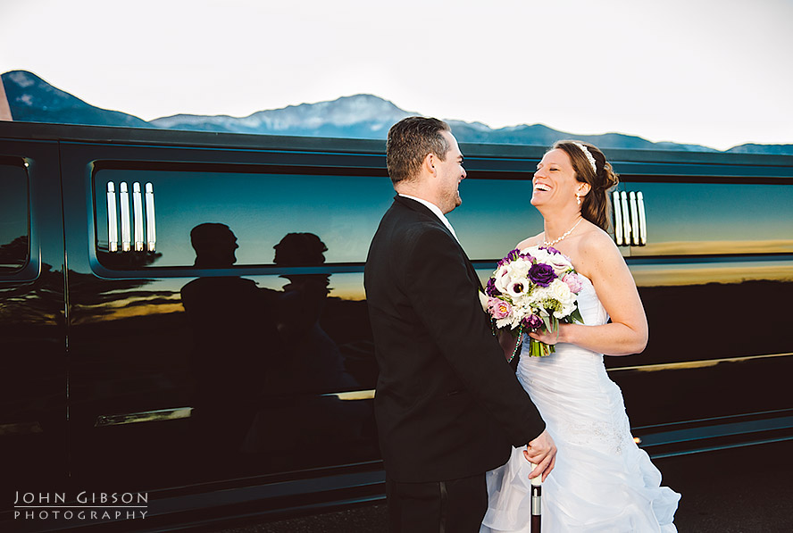 Colorado Springs Winter Wedding