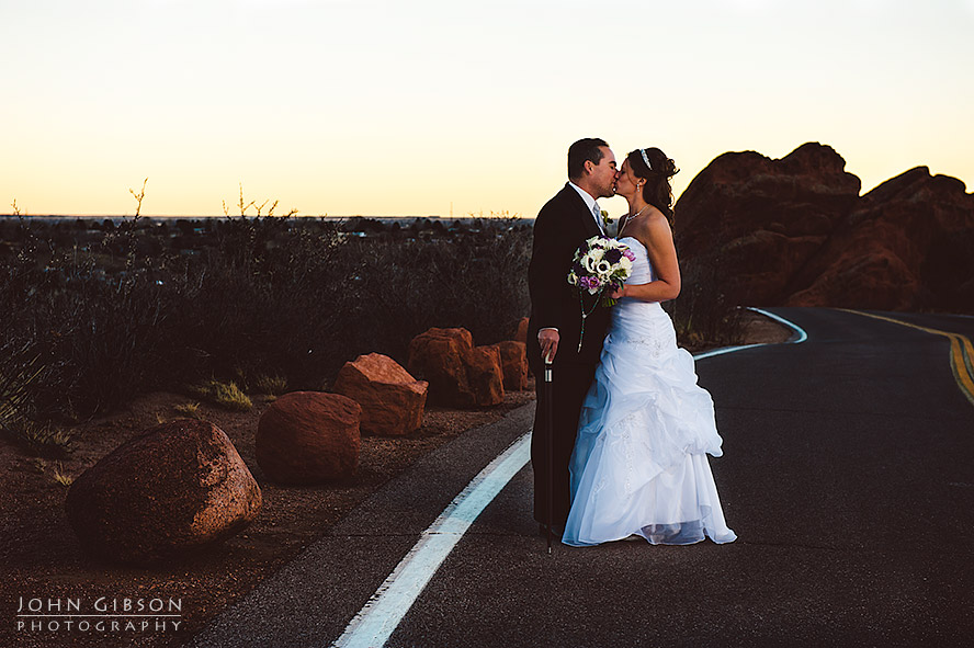 Twilight photo - Colorado Springs Wedding Photographers