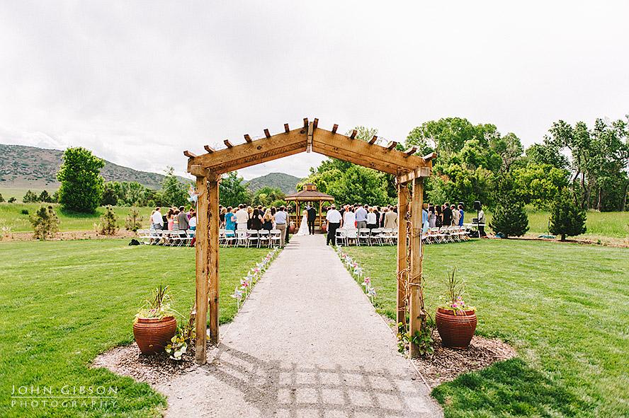 Christi John Denver Botanic Gardens Wedding John Gibson Photography