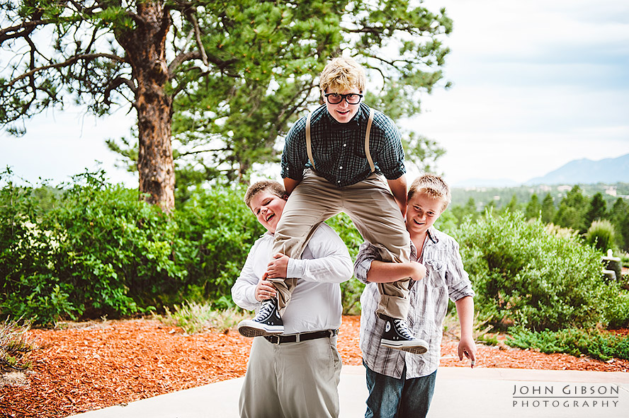 Bar Mitzvah Celebration - Colorado Springs family photographers