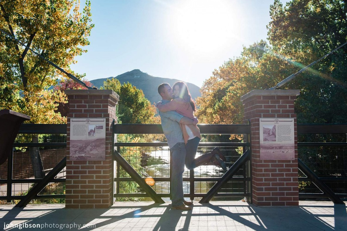 Golden Colorado Fall Engagement - Denver Wedding Photographers