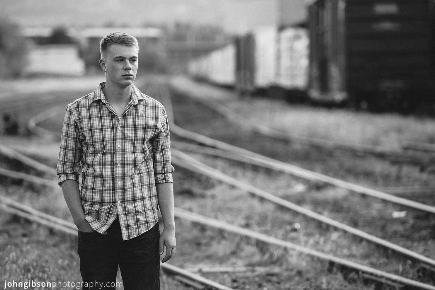 Urban Colorado Springs Senior Portraits - Mark